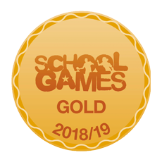School Games Gold 2018/19 Logo
